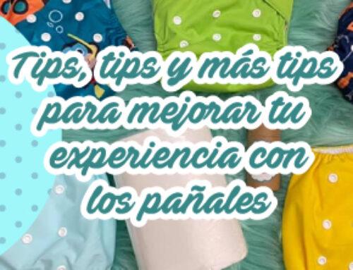 Tips, tips y más tips para mejorar tu experiencia con los pañales de tela